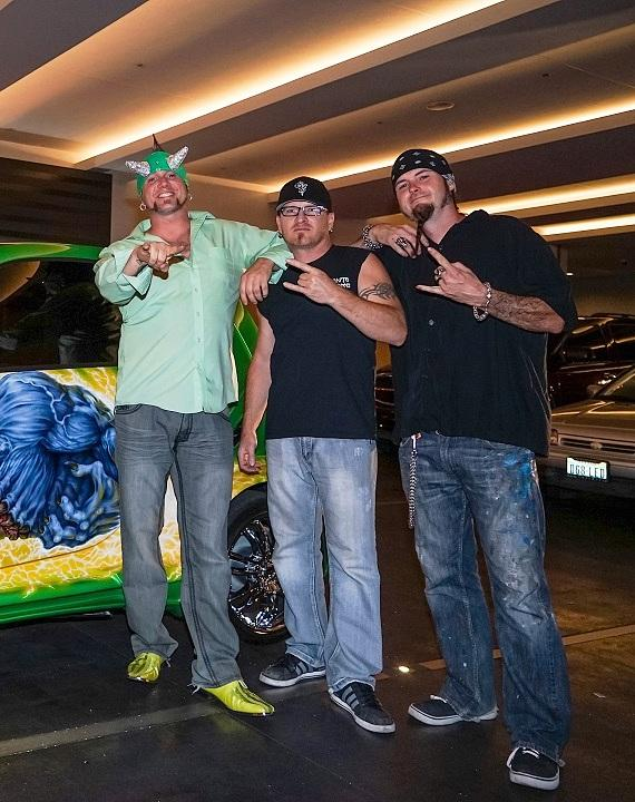 """Mikes Used Cars >> Stars of History Channel's """"Counting Cars"""" Celebrate Premiere at the D Las Vegas"""
