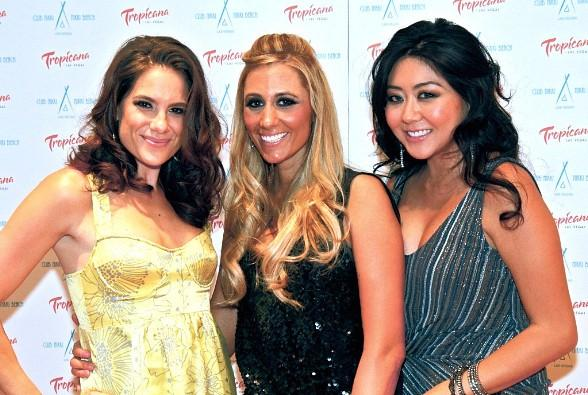 Maria Ho, Vanessa Rousso and Tiffany Michelle Host 2011 World Series of Poker Launch Party at Nikki Beach