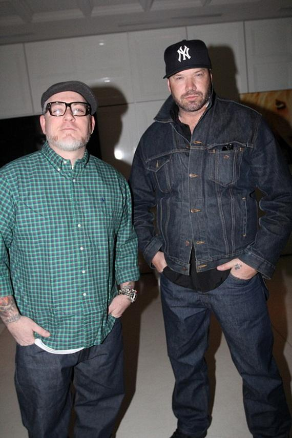 Danny Boy and Everlast of musical group House of Pain