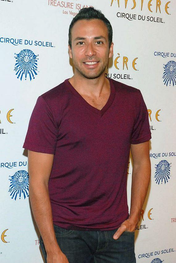 Backstreet Boy Howie Dorough at Mystère Cirque du Soleil at Treasure Island