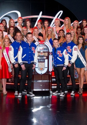 "Miss Teen USA Contestants Attend Human Nature ""Jukebox"" at The Venetian Las Vegas"
