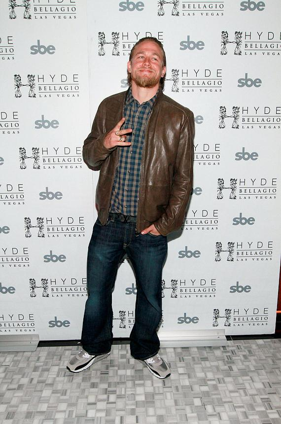 Charlie Hunnam at Hyde Bellagio