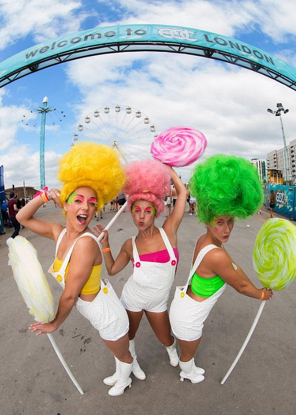 Photo Gallery: Electric Daisy Carnival in London