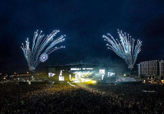Fireworks at EDC London
