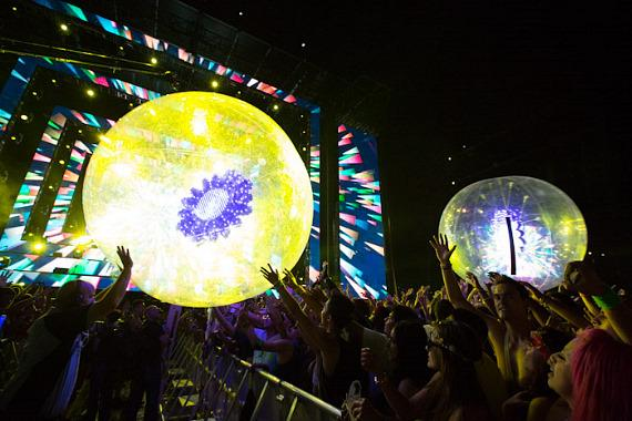 16th Annual Electric Daisy Carnival in Las Vegas - Day 1 Photos