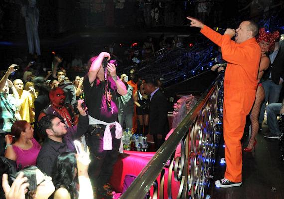 Ice-T performs at LAX Nightclub in Las Vegas