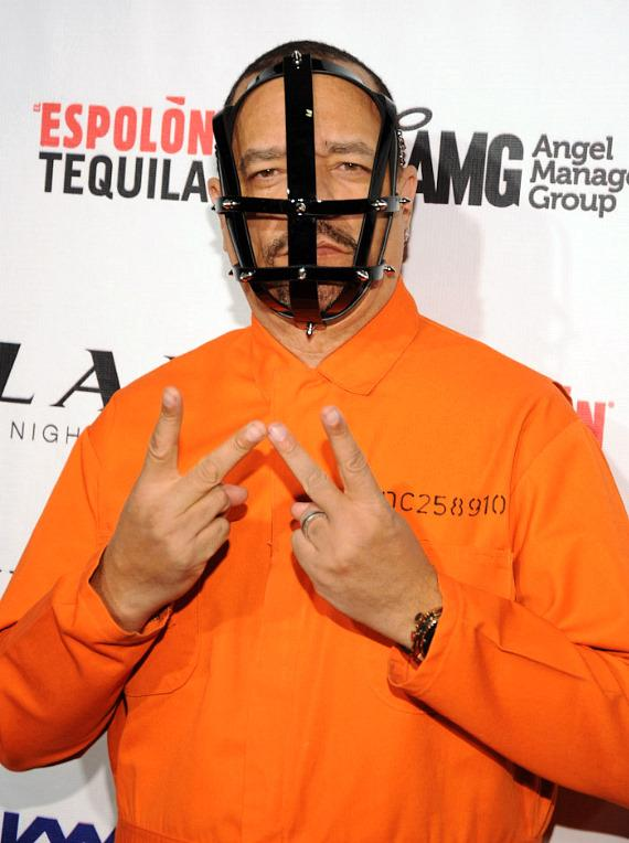 Ice-T on red carpet at LAX Nightclub in Las Vegas