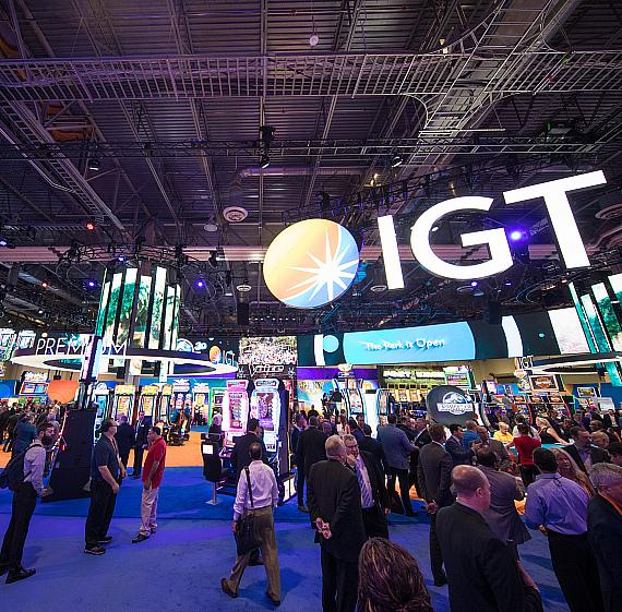 IGT unveils new gaming technology