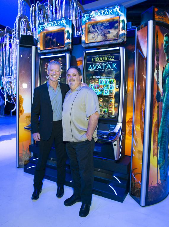 Actor Stephen Lang and Producer Jon Landau unveil AVATAR Video Slots