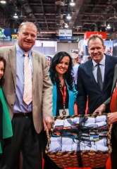 Wynn Las Vegas Collects over 5,000 Pairs of Socks for Local Charity During IMEX 2016