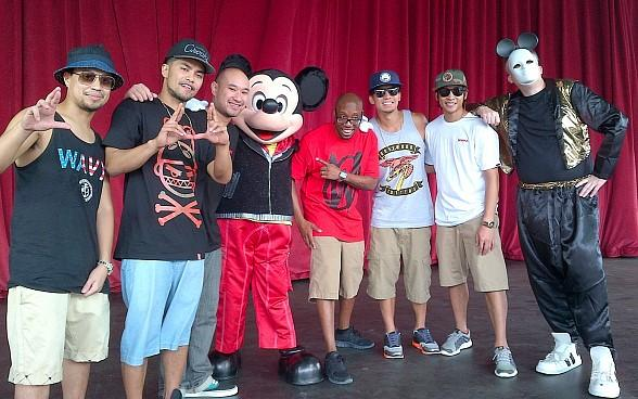 Jabbawockeez Take Over Disney World with Hip Hop Mickey Mouse