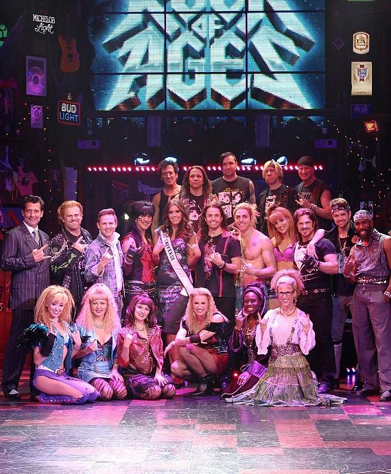 "Miss Universe Contestants Attend ""Rock of Ages"" at The Venetian Las Vegas"