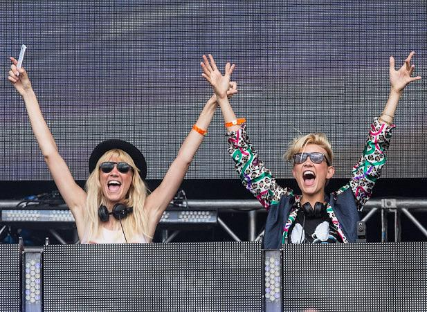 Nervo performs at EDC London