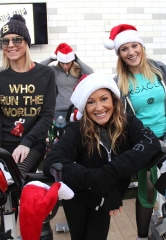 "Beer Park at Paris Las Vegas hosts XCYCLE Las Vegas' first ever ""Jingle Bell Ride"" to benefit Toys for Tots"