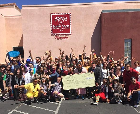 Easterseals Nevada Receives Generous Donation from ChoiceCenter