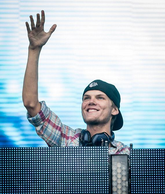 DJ Avicii at EDC London