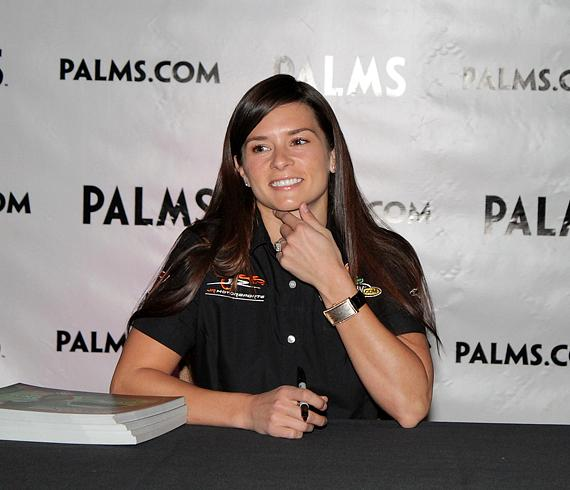NASCAR driver Danica Patrick
