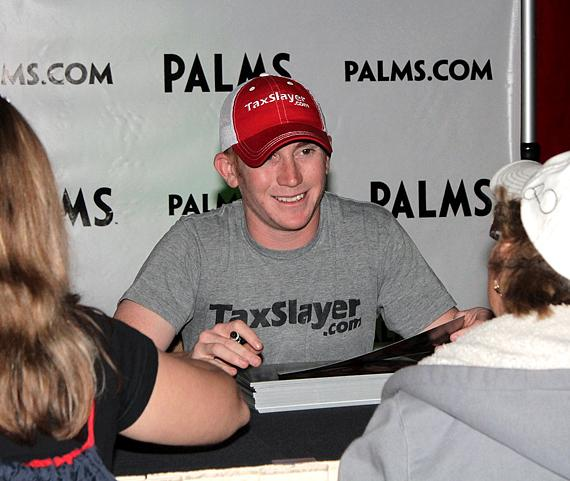 NASCAR driver Cole Whitt