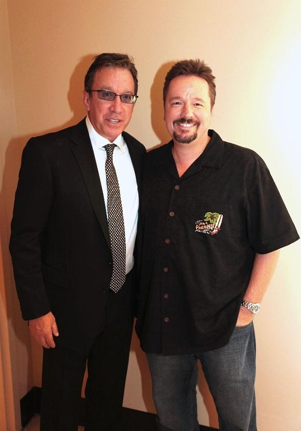 Tim Allen and Terry Fator at Terry Fator Theatre at The Mirage