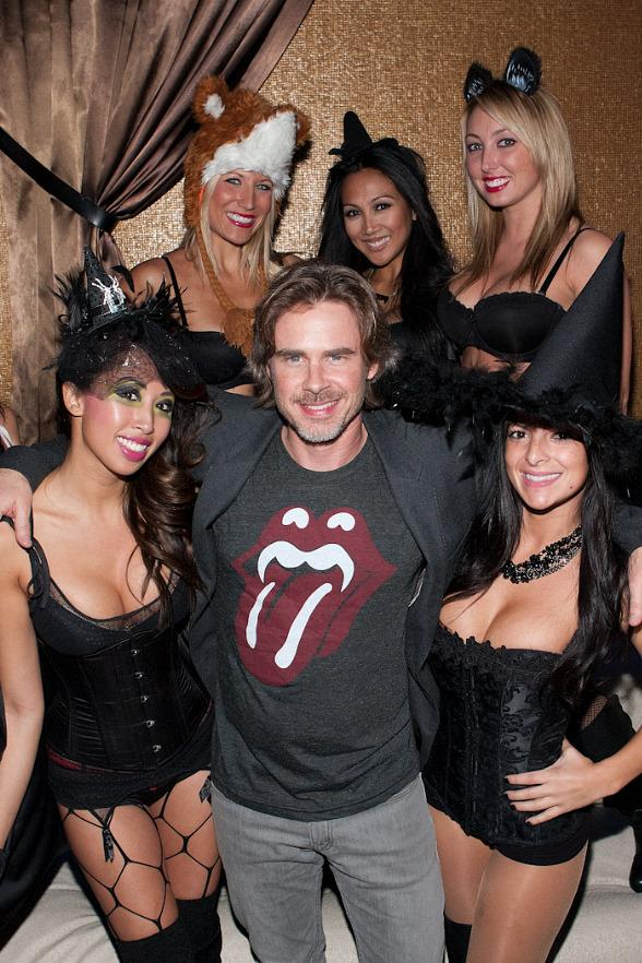True Blood's Sam Trammell Kicks Off Halloween Weekend at Vanity Nightclub
