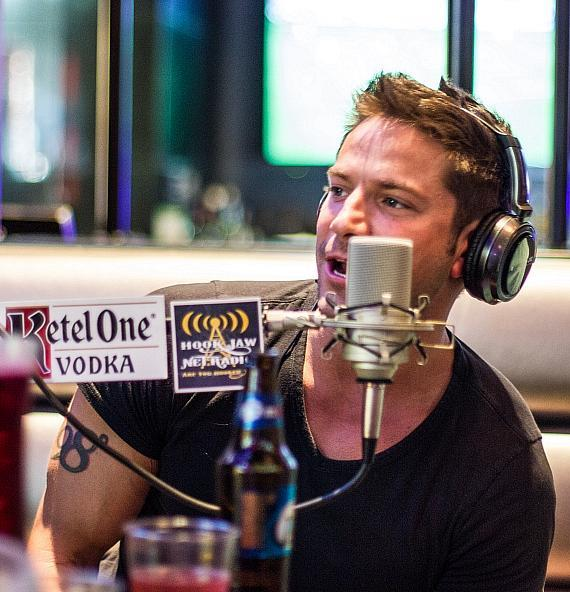 Jeff Timmons of 98 Degrees at PBR Rock Bar in Las Vegas