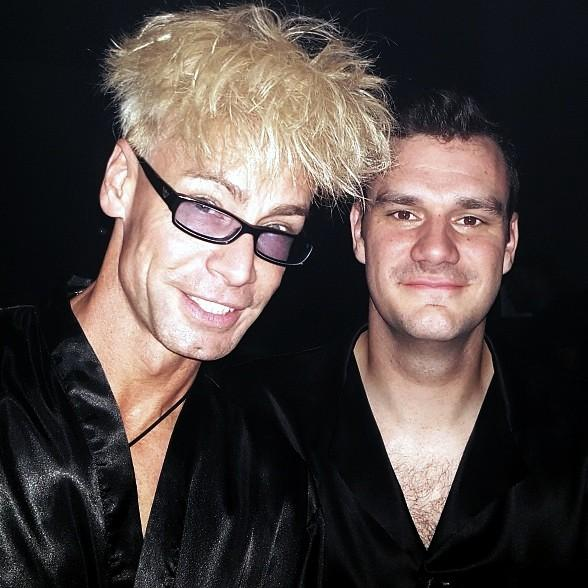 "Murray SawChuck Attends Playboy's ""Midsummer Night's Dream"" Party; Photo with Cooper Hefner"