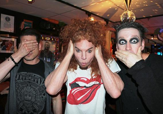 Mike Hammer, Carrot Top and Tape Face at The Luxor Las Vegas