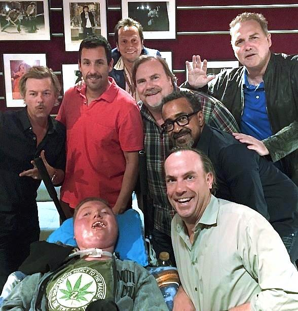 Adam Sandler, David Spade, Rob Schneider, Norm McDonald and more make Dream Come True for Local Teen with SMA