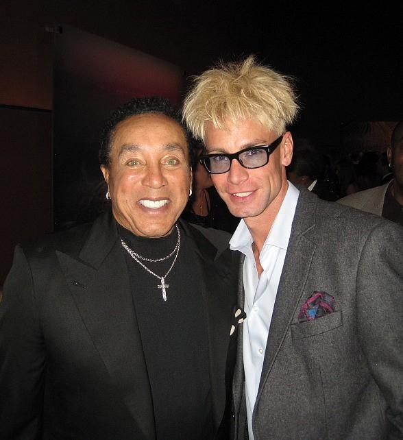 Celebrity Sighting: Murray and Smokey Robinson at Human Nature Red Carpet Event