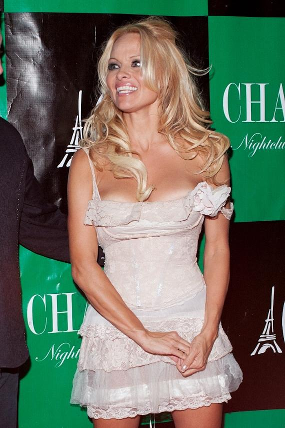 Pamela Anderson at Chateau Nightclub & Gardens