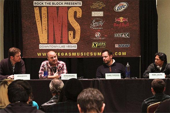 Vegas Music Summit Brings Education for Bands and Those Interested in The Music Business
