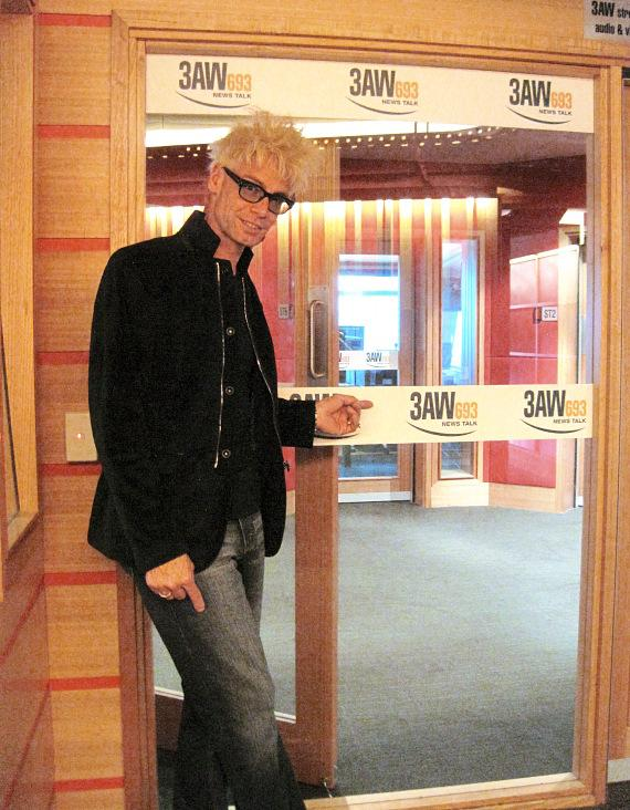Murray at 3AW, the biggest radio station in Oz