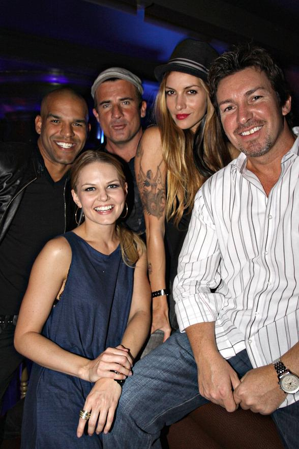 Prison Break's Amaury Nolasco and Jennifer Morrision Surprise Dominic Purcell at Body English