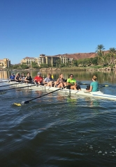 First Collegiate Rowing Regatta in Nevada at Lake Las Vegas Community; Lake Las Vegas Collegiate Invitational Mar. 4-5