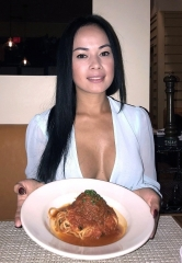 Las Vegas Model/Dancer Dixie Miranda Dines at Bratalian by Chef Carla Pellegrino