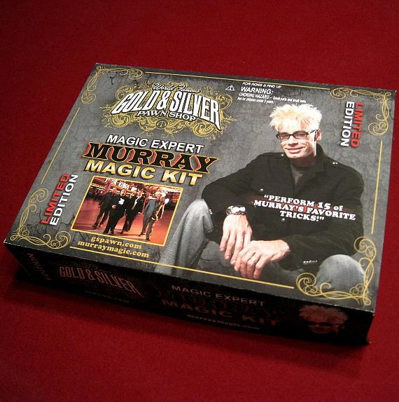 Gold & Silver Pawn Magic Expert MURRAY Magic Kit