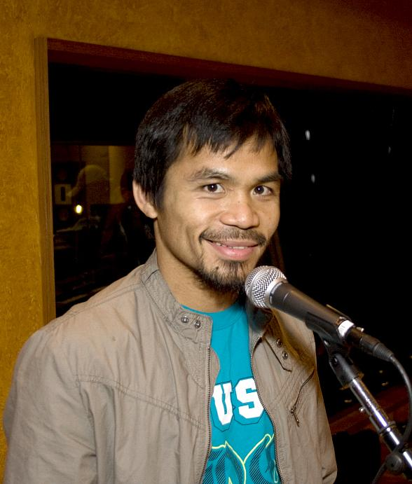 Manny Pacquiao and his Band Rehearse at Studio at The Palms