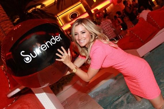 Ashley Tisdale at Surrender
