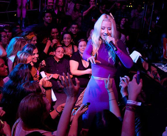 Iggy Azalea performs at Moon Nightclub in Palms Casino Resort