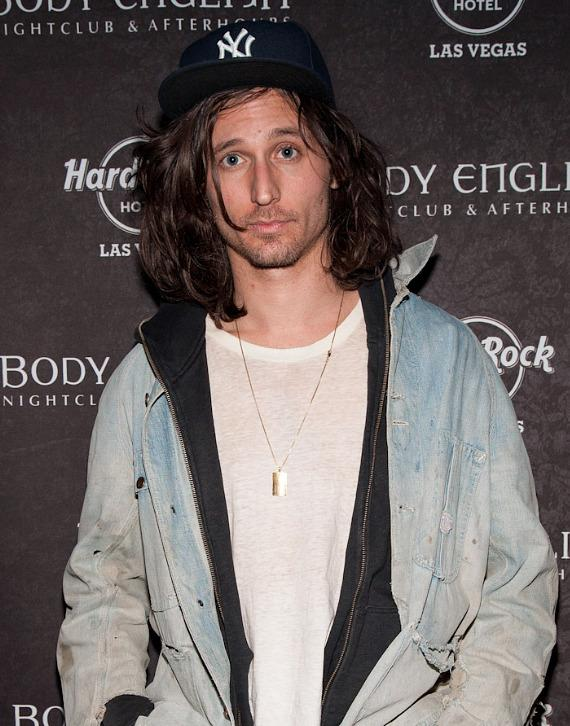 Nick Valensi at Body English Nightclub