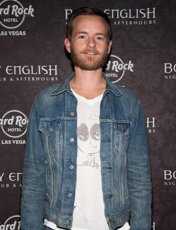 Christopher Masterson at Body English Nightclub