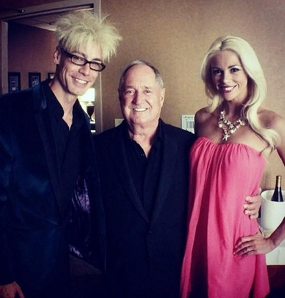 Murray & Chloe backstage with Neil Sedaka at The Orleans Hotel & Casino in Las Vegas
