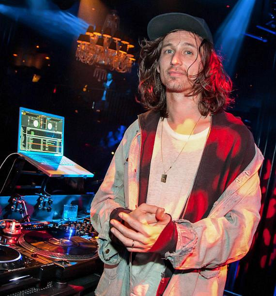Nick Valensi performs DJ set at Body English Nightclub