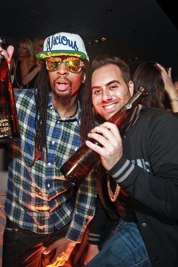 Lil Jon and Eli Pacino at 1OAK