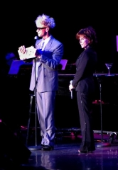 Murray Surprises Deana Martin (Dean Martin's Daughter) on Stage in Las Vegas
