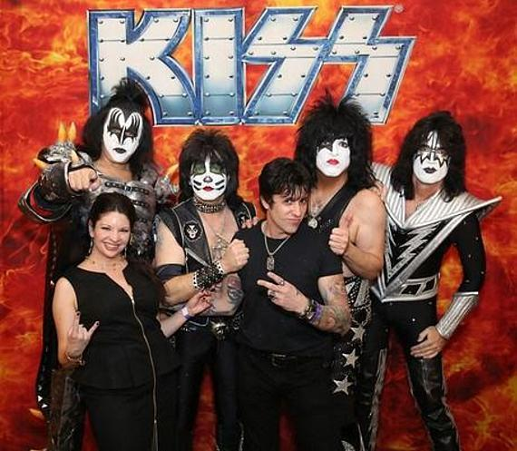 Rock Demarco with KISS