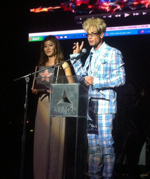 MURRAY Accepts Awards for 'Career Achievement in the Magic Arts' in Hollywood