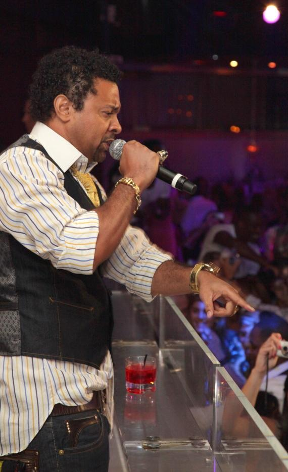 Shaggy performs at PURE