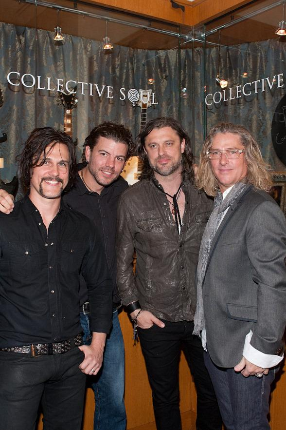 Collective Soul at Hard Rock Hotel Showcase Presentation