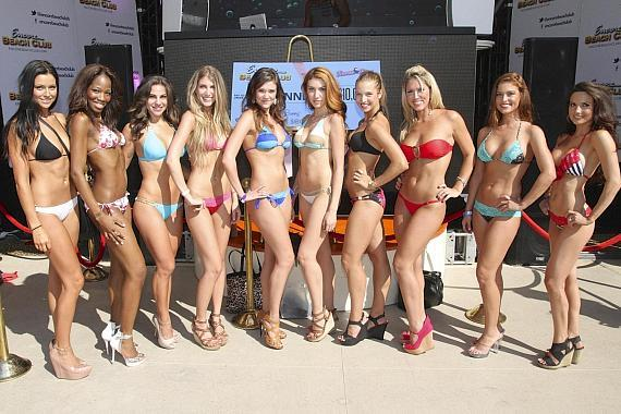 Contestants for Beach Bunny Swimwears 3rd Annual Model Search